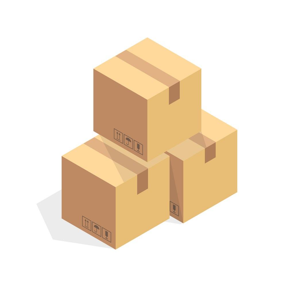 tumpukan kotak