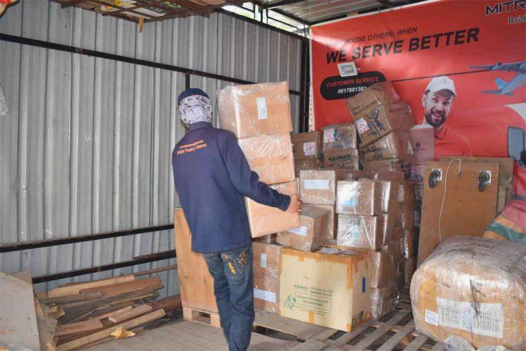 pengiriman barang via darat