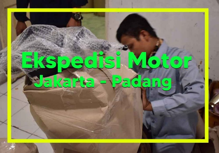 Ekspedisi Motor jakarta Padang