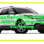 Jasa Pengiriman Mobil Via Towing