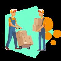 vector jasa pengiriman barang